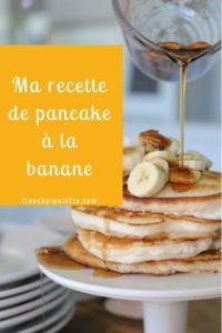ma recette de pancake à la banane