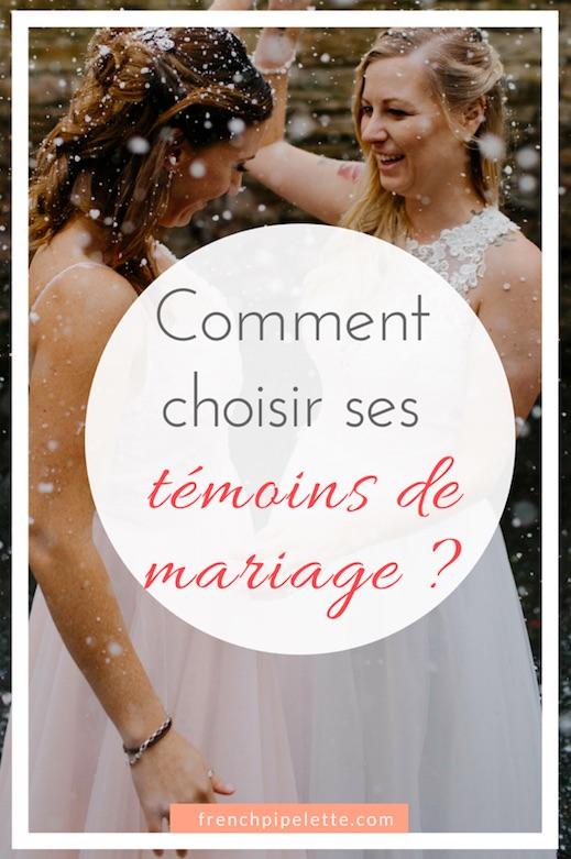 Comment choisir ses témoins de mariage