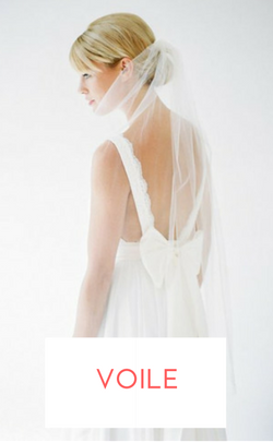 shopping voile mariage