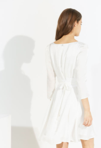 Robe claudie pierlot rififi satin