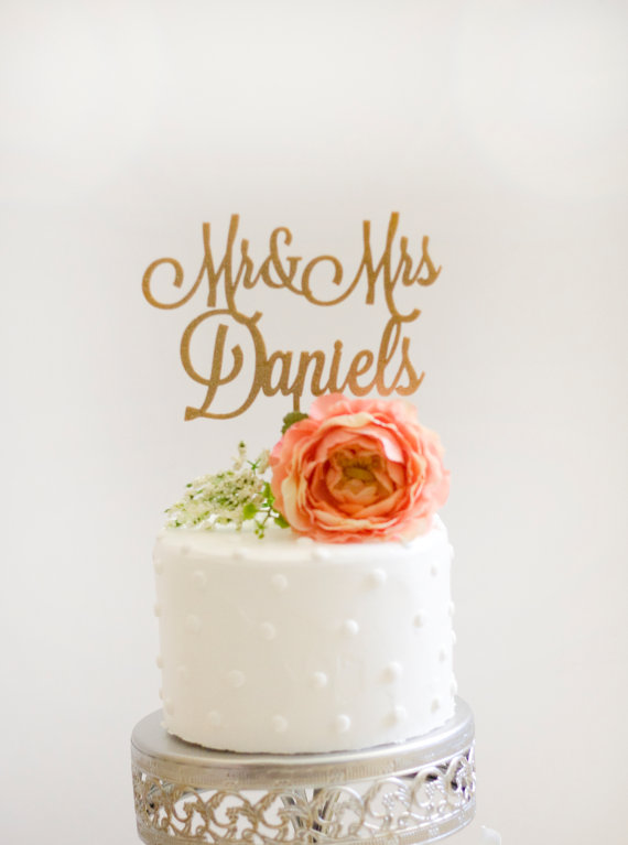 Topper cake personnalisable