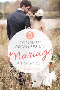 Comment organiser un mariage à distance
