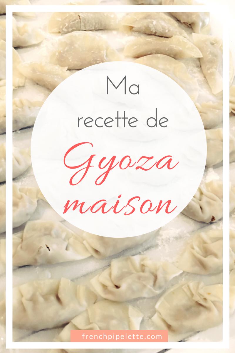 ma recette de gyoza maison