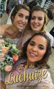 Filtre snapchat mariage connecté