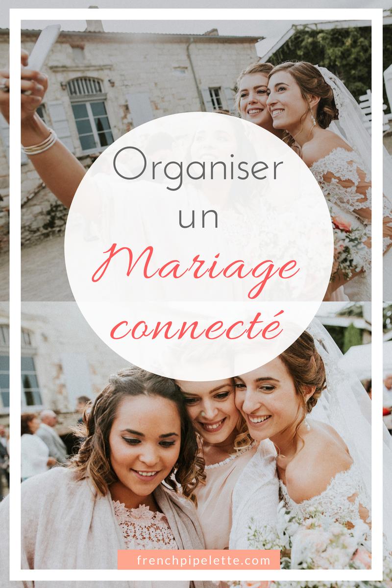 Organiser un mariage connecté
