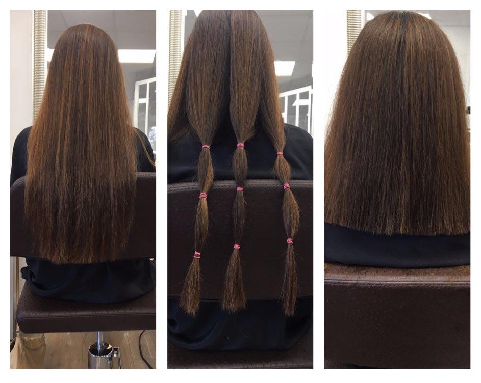 étapes donner ses cheveux
