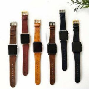 bracelet cuir apple watch - Idées cadeaux de Noël à petits prix