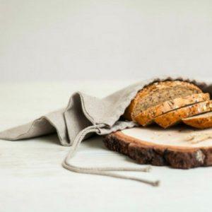 pochette à pain bio - Idées cadeaux de Noël à petits prix