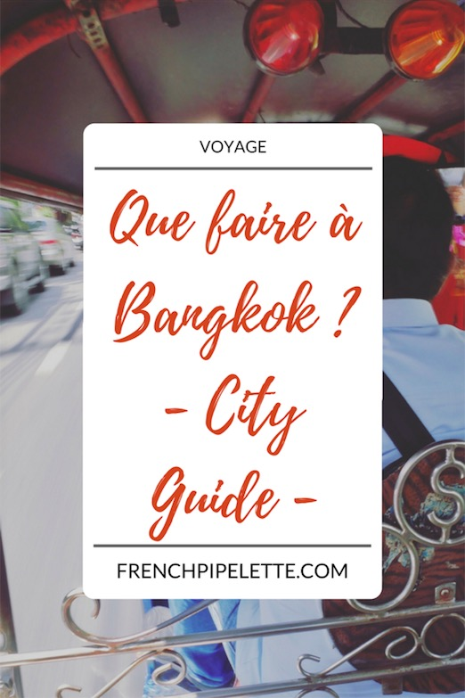 City guide Bangkok