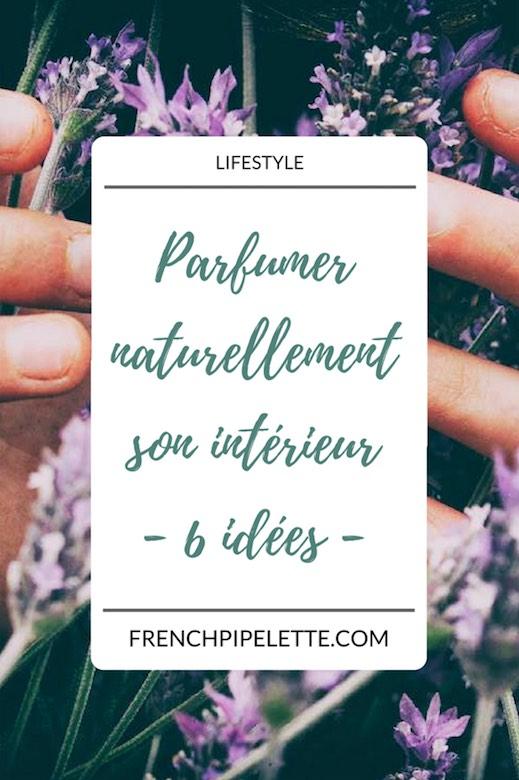 parfumer naturellement son intérieur
