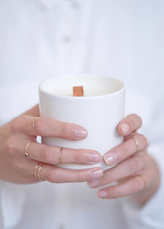 Note Suave - Bougie artisanale parfumée