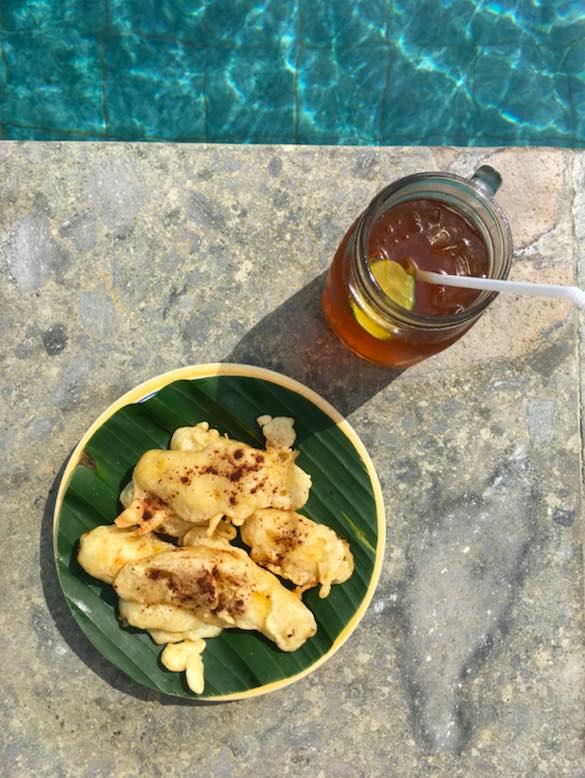 recette banana fritters de bali