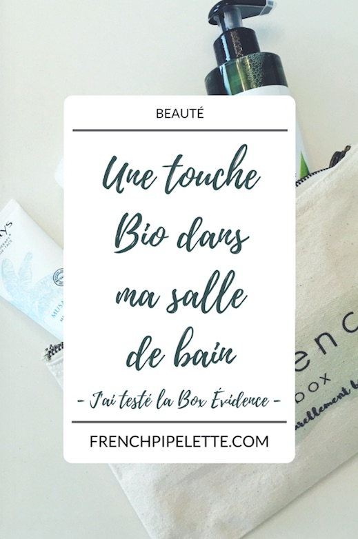 Box Beauté Bio - Box Évidence