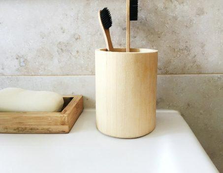 Une salle de bain zéro déchet