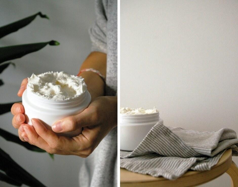 Crème fouettée pour le corps ultra nourrissante_contenant