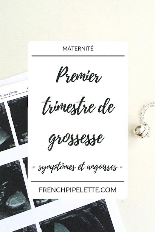 premier trimestre de grossesse