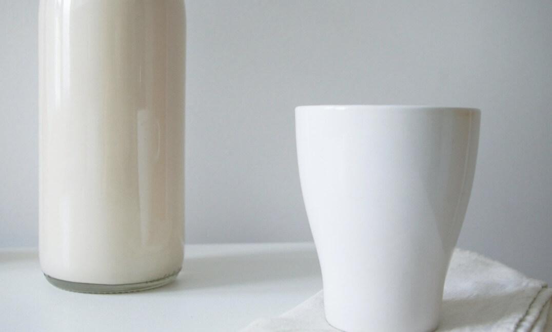 recette lait d'amande