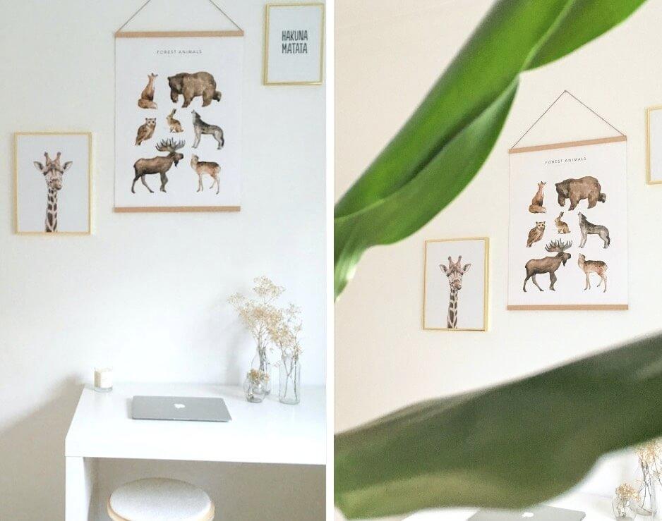 Comment habiller ses murs blancs _ chambre enfant