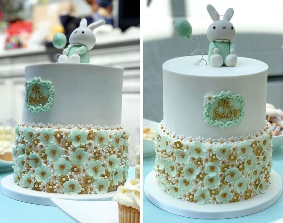 organisation baby shower_cake design